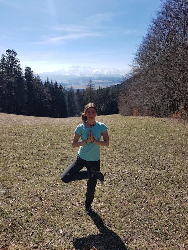 Magda Nowak - nauczycielka jogi w Krakowie